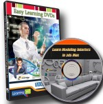 Easylearning Learn Modeling & Rendering Interiors in 3ds Max Video Training DVD