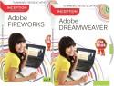 Inception Learn Adobe Dreamweaver + Adobe Fireworks (CD)
