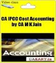 CAKART CA IPCC Cost Accounting By CA M K Jain - Pen Drive