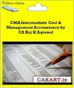 CAKART CMA Intermediate Cost & Management Accountancy By CA Raj K Agrawal - Pen Drive