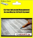 CAKART CA Final Advanced Management Accounting By CA Raj K Agrawal - Pen Drive