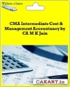CAKART CMA Intermediate Cost & Management Accountancy By CA M K Jain - Pen Drive