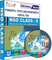Practice Guru NSO Class 8 (CD)