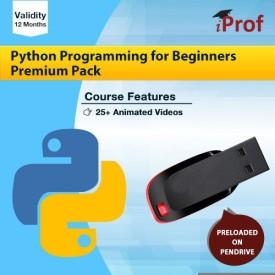 iProf Python Programming Premium Pack in Pen drive