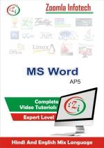 Zoomla Infotech MSWORD AP5/2016