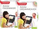 Inception Learn Adobe Dreamweaver + Adobe Pagemaker (CD)