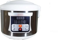 Electro Tech ET750AC 5 L Electric Rice Cooker With Steaming Feature (Silver, White)