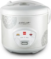 Cello Cook-N-Serve 200 1 L Electric Rice Cooker (White, Pack Of 2)