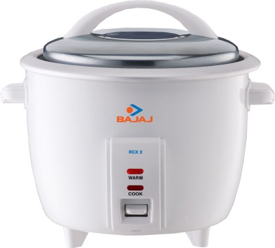 Buy Bajaj RCX 2 1 L Rice Cooker: Electric Cooker