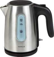 Havells Aquis II 1 Electric Kettle (Silver)