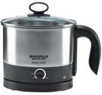 Maharaja Whiteline Easy Cook 1.2 L Electric Kettle (Metal Finish)