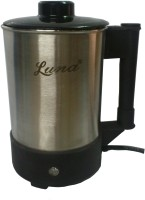 LUNA LU002 Multi Purpose Heating Jug / Cup Stainless Steel 1.25 L Electric Kettle (1.25 L, Steel Black)