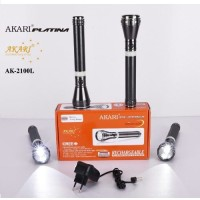 Akari Platina Rechargeable AK-2100L Rave Led 1000 Meters Long Rang Torches (Black)