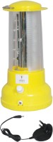 Urjja 15 LED With Charger Emergency Lights (Yellow)