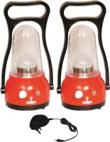 Urjja 12 Led Moon Light With Chrager Emergency Lights (Red)