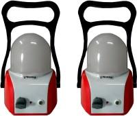 Vimarsh Rechargeable LED OMLite Red(Set Of 2) Emergency Lights (Red)