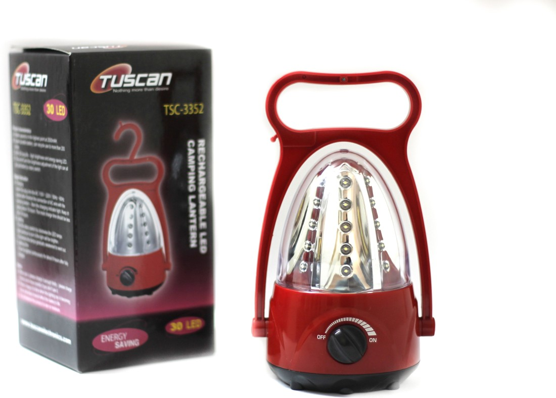 Tuscan Rechargeable 30 LED Camping Lantern TSC-3352 Emergency Lights