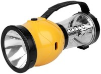 Quace 3 In 1 Torch Cum Emergency Light Cum Mobile Charger Solar Lights (Yellow)