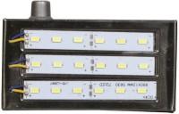 Urjja 18 Led Smd Metal Emergency Lights (Silver)