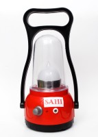Sahi Rechargeable Moon With Charger Emergency Lights (Red, Black)