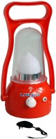 New Urjja New Moon Lantern Red With Charger Emergency Lights (Red)