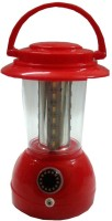 Vimarsh Rechargeable Lantern With Charger (24LED Bulbs) Emergency Lights (Red)