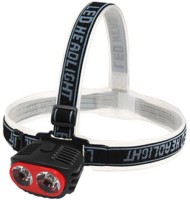 GVC High Brightness Lumens Head Lamp Torches (Red, Black)