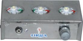 Urjja 3 Star Metallic Emergency Light