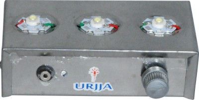 Urjja 3 Star Metallic Emergency Light