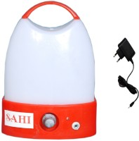 Sahi Rechargeable Pari (red) With Charger Emergency Lights (Red, White)