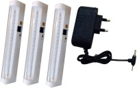 Grind Sapphire Charger With -3set Emergency Lights (white)