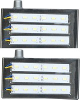 Kaka Ji 18 Smd Metal Emergency Lights (silver)