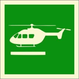 BRANDSHELL Helideck Emergency Sign