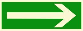 BRANDSHELL Right Side Emergency Sign