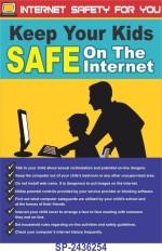 SignageShop Internet safety for you Poster Emergency Sign