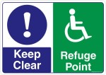 Safety Sign Store Safety Sign Store Keep Clear Emergency Sign