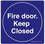 Safety Sign Store Safety Sign Store Fire Door. Keep Closed Emergency Sign