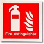 Safe Pro Safe Pro Fire Extinguisher Emergency Sign