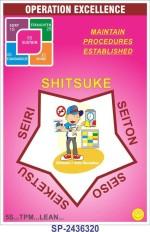 SignageShop Operation Excellence Shitsuke Poster Emergency Sign