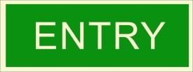 BRANDSHELL Entry Emergency Sign