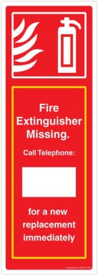 Safety Sign Store Safety Sign Store Single Fire Extinguisher Emergency Sign