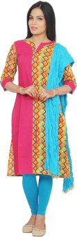 Rama Women's, Girl's Kurti, Legging And Dupatta Set - ETHEF6RZVAVAHJCV
