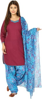 Aavaya Fashion Women's Kurti, Patiala And Dupatta Set - ETHE93X49YHCGDRF