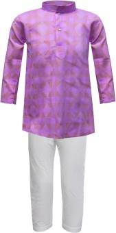 Jazzup Boy's Kurta & Pyjama Set