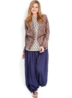 Folklore Women's Kurta, Waistcoat And Pyjama Set
