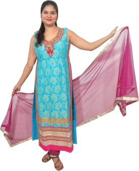 Revez Women's Churidar, Kurta & Dupatta Set