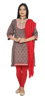 Rama Women's, Girl's Kurti, Legging And Dupatta Set - ETHEFDAQMRTBZ8E2