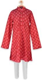 PSPEACHES Boy's Kurta and Pyjama Set
