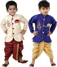 FTCBazar Boy's Dhoti & Kurta Set