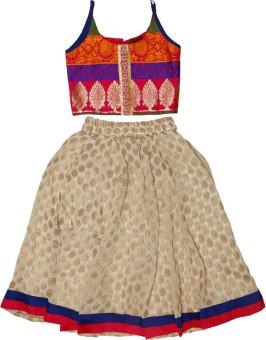 Twisha Girl's Top And Skirt Set